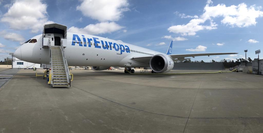 Air Europa reçoit son premier 787-9
