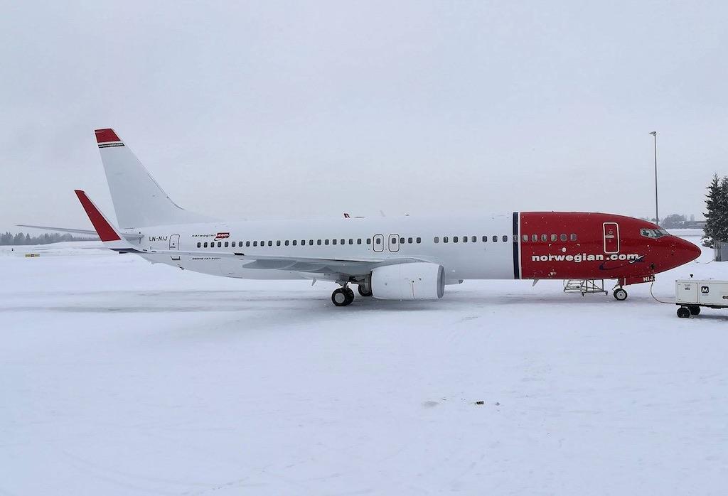 Norwegian reçoit son dernier 737-800