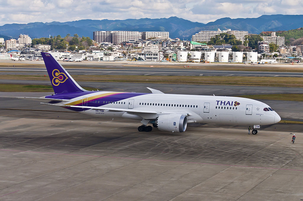 Thai Airways : le Dreamliner s'envole vers l'Europe