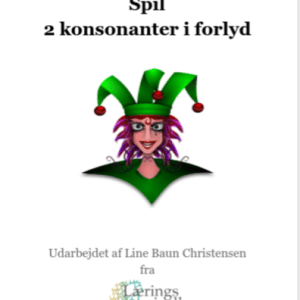 To konsonanter i forlyd