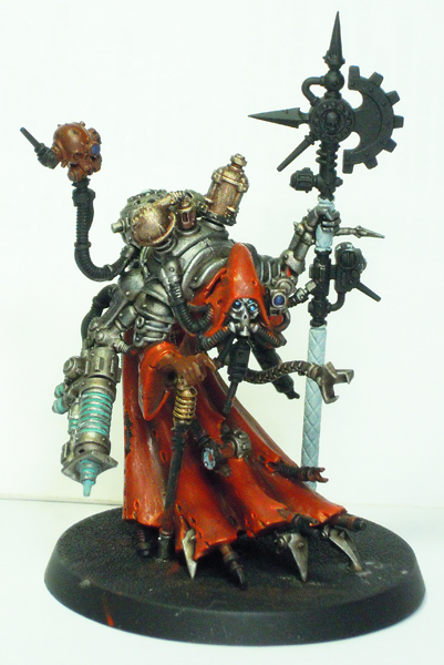 Tech-Priest Dominus - front view