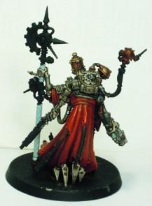 Tech-Priest Dominus - rear view