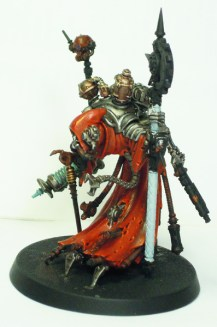 Tech-Priest Dominus - left side view