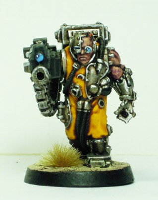 Servitor with heavy bolter 2
