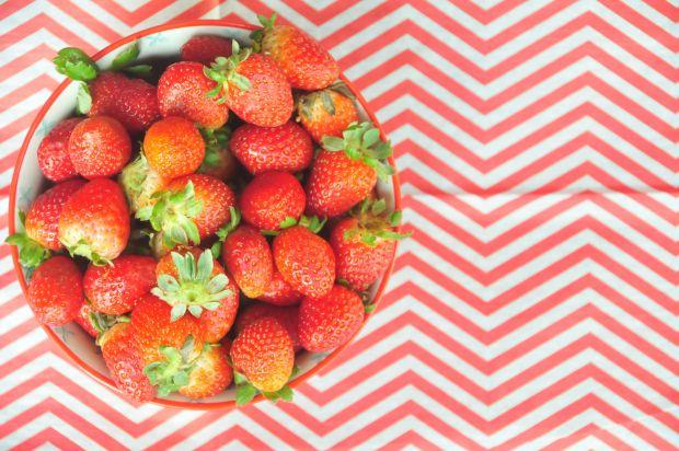 En lo posible, trata de usar fresas orgánicas