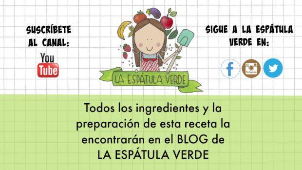 Recuerda que todos los ingredientes siempre los vas a encontrar acá en el blog de de La Espátula Verde. No dejes de suscribirte al blog y también al canal en Youtube y seguir a LEV en Facebook, Tweeter y en Instagram!
