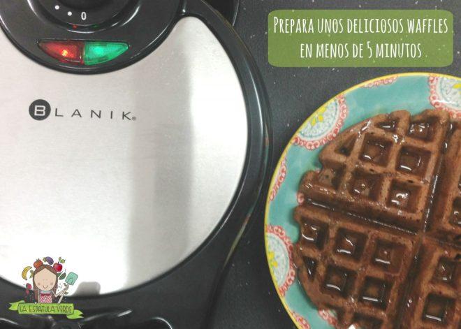 No les provoca comerse un waffle?