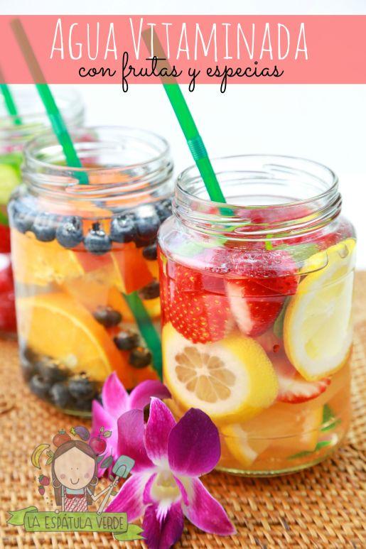 Agua Vitaminada con frutas y especies