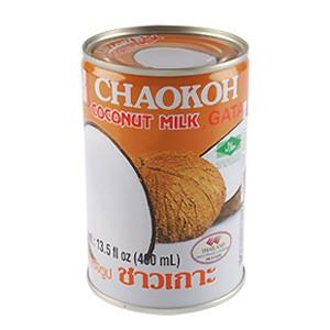 Esta es la lata de leche de coco que uso para esta receta, se puede conseguir en los super mercados y en las tiendas asiáticas.