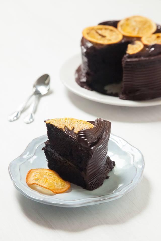 Torta de Chocolate con Naranja Crujiente!!!