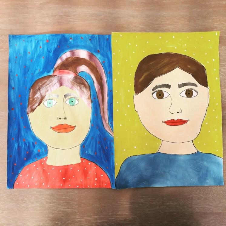 Dibujos lindos hechos por tus hijos.