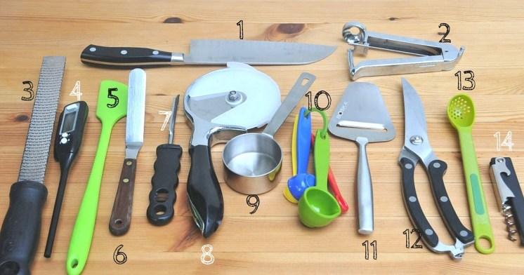 Mis utensilios de cocina favoritos