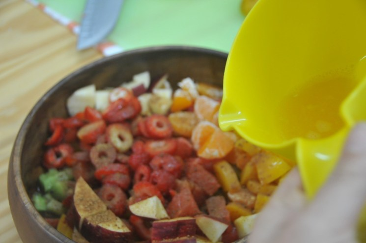 consejos para preparar ensalada de frutas