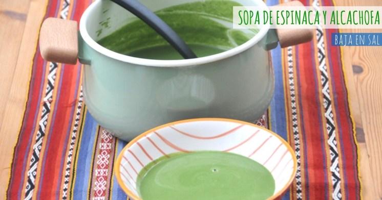 id-Sopa de espinaca y alcachofas
