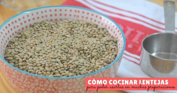 Cocinar Lentejas.Cómo Cocinar Lentejas La Espátula Verde
