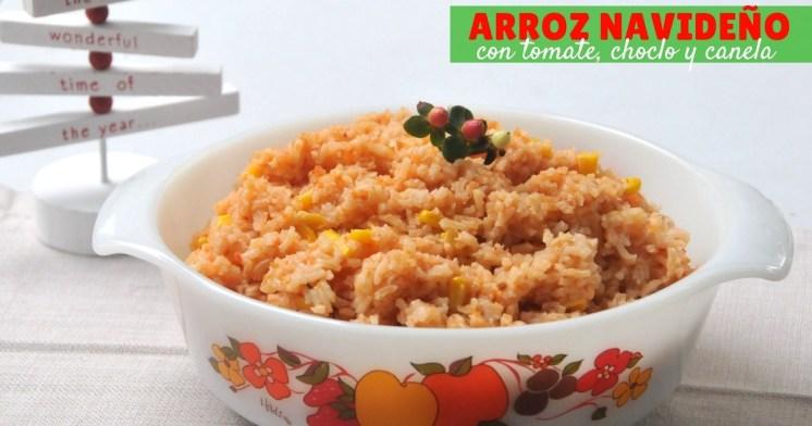 arroz-navidad-paso-a-paso