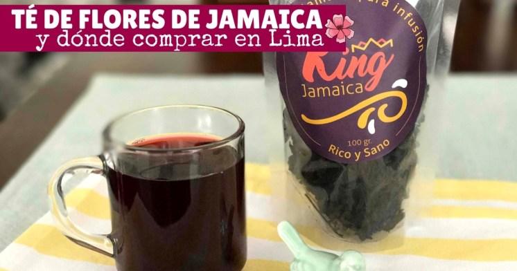 Té de flores de jamaica y canela y dónde comprar