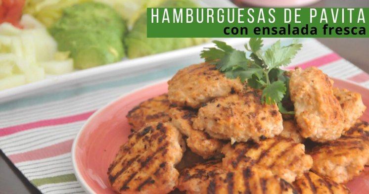 Cómo hacer hamburguesas caseras de pavita