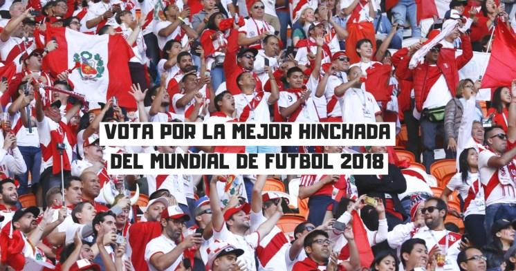 Probablemente, la mejor afición del mundo - Vota por Perú