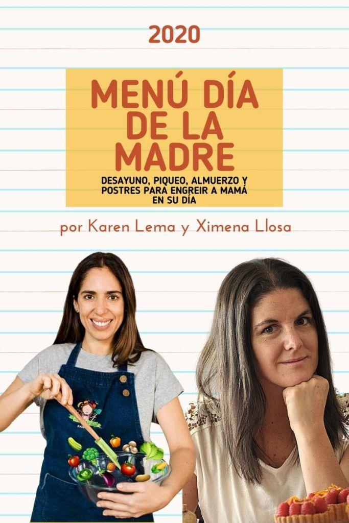 Menú día de la madre por Karen Lema y Ximena Llosa