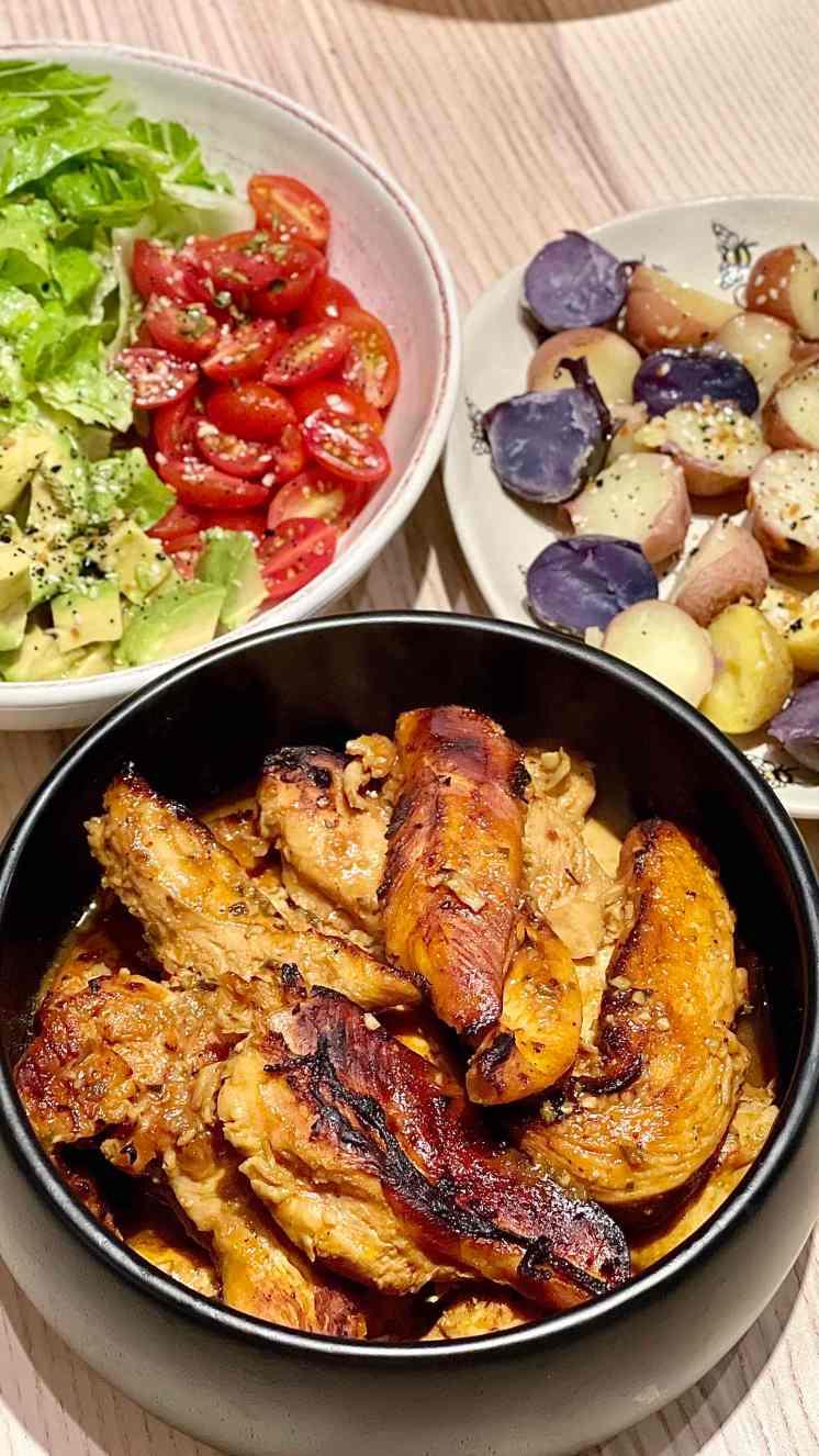 Pollo al Horno con Barbecue