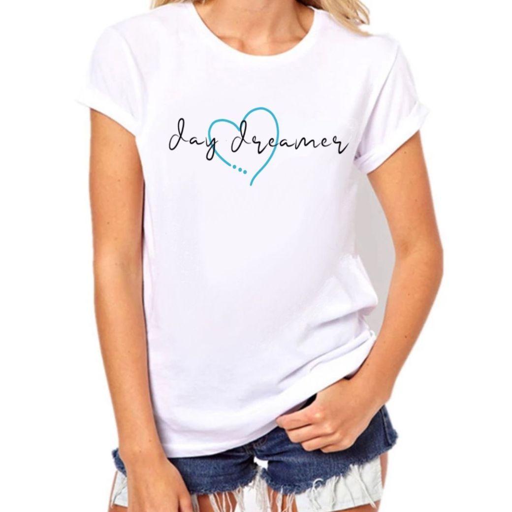 day dreamer camiseta ilustrada mujer regalos originales y personalizados soñadora camisetas con frases diseños originales ilustradas por misspecas