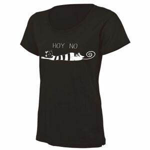 hoy no gato camiseta minino negro perezoso
