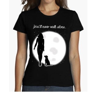 you will never walk alone again pets shirts camiseta chica women girl pets dogs buy online