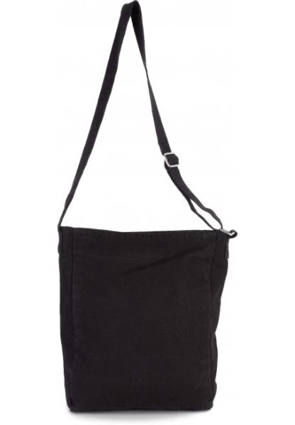 Bolsa bandolera de algodón canvas, correa de hombro ajustable de algodón. Cierre con cremallera. bolsa para ipad, portatodo, bolsa escolar, instituto universidad, bolsa para tablet