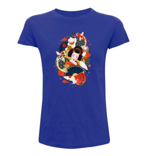 camiseta friki japon para mujer manga corta camisetas frikis camisetas divertidas