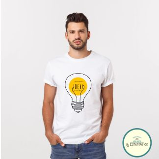 camiseta idea chico humor