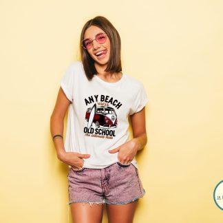 sudadera retro para hombre o mujer en colores van volkswagen tabla surf old school camiseta para mujer