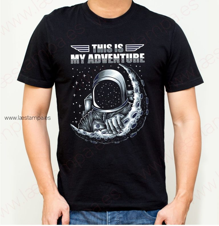 camiseta hombre space adventure