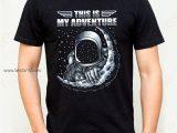 Camiseta para hombre space adventure