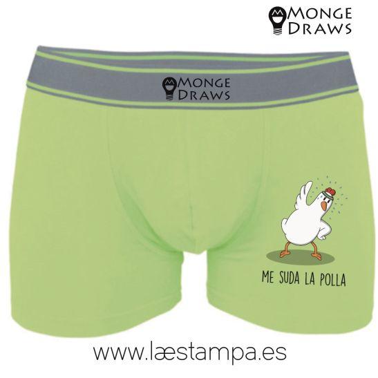 mongedraws boxer calzoncillo pollón en tres colores
