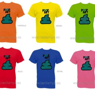 camiseta poop art unisex original