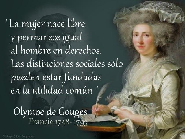 Olympe de Gouges Francia 1791
