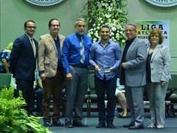 Jorge Sánchez atleta más valios de halterofilia representado a la Politécnica y participará en Barranquilla 2018. (L. Minguela LAI)
