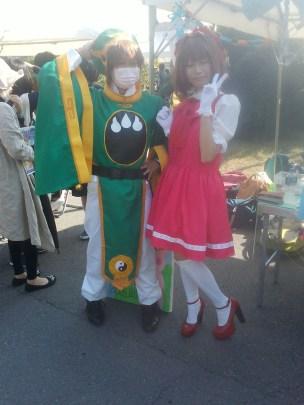 Card captor Sakura cosplays