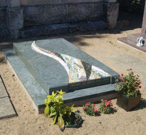 monument funéraire fini source de vie laetitia gauthier mosaique art funéraire