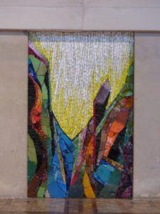 de la terre jaillit la lumiere art sacré 3 mosaique