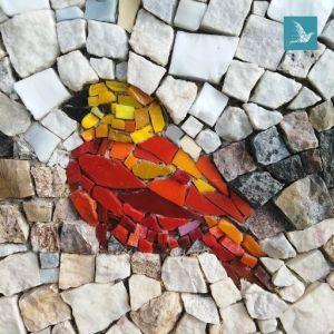 mosaïque pour décorer une véranda