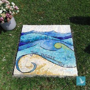 mosaïque Rezé océan art funéraire