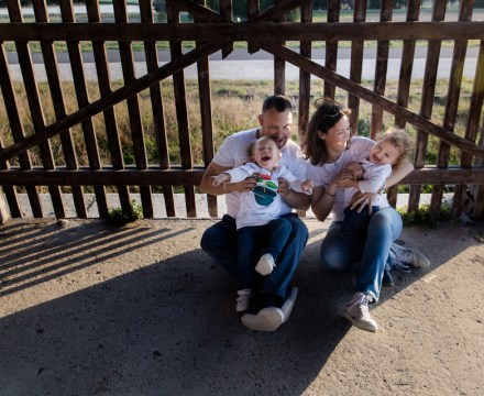 Photos de famille à Loriol du Comtat 84