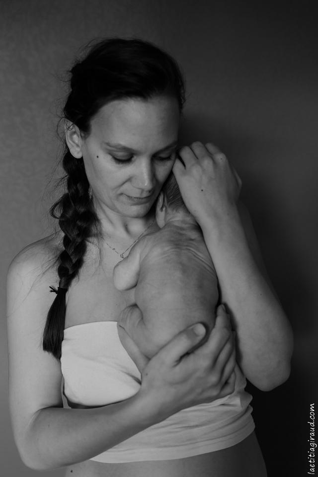 peau a peau bebe et maman