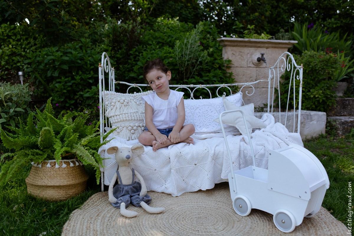 Mini séance photo Le jardin de Nina