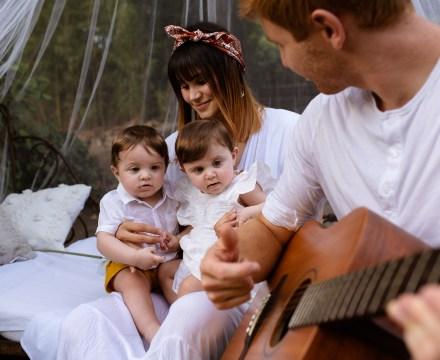 Photo de jumeaux en famille  à Carpentras