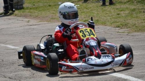 Karting: La última vuelta complicó a Naranjo