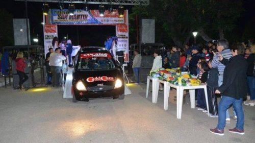 Abarca se quedó con la cima del podio en San Luis