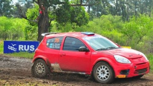 Rally Argentino: Abarca, el primer líder en Entre Ríos